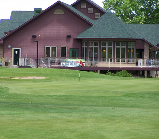 Click Big Deals - Meadowbrook Golf Course: 18-holes, 1/2 cart rental, and small bucket of range balls, half-price for JUST $35.25