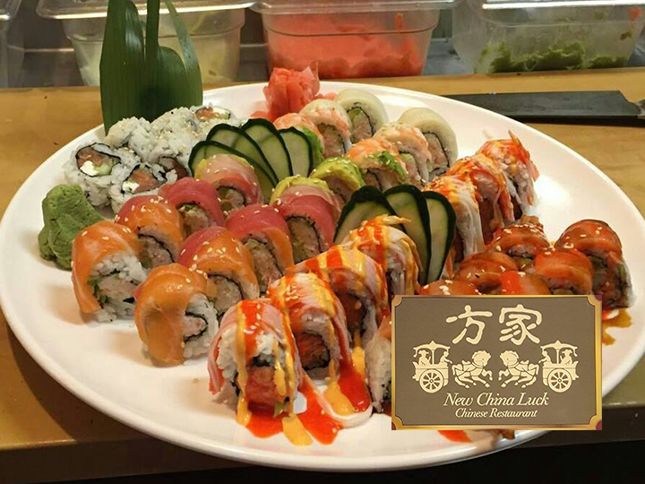 China Luck 50% OFF - Get $20 to the Sushi Bar for JUST $10