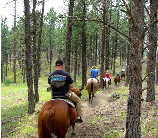 Get 50% off Horseback riding for two for only $37 at High Country Guest Ranch!!