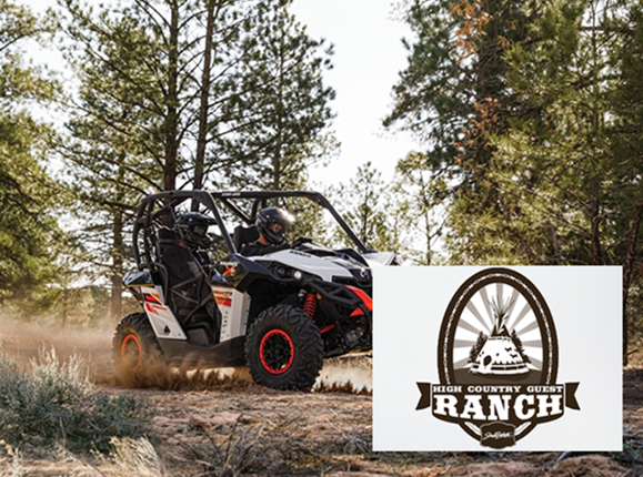 Click Big Deals - Get 50% off a half day, four-seater ATV rental from High Country Guest Ranch and adventure in the Black Hills!
