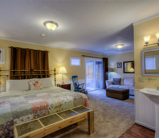Get a night stay plus breakfast at the beautiful and historic Black Forest Inn B&B for 50% OFF! A $170 value JUST $85!