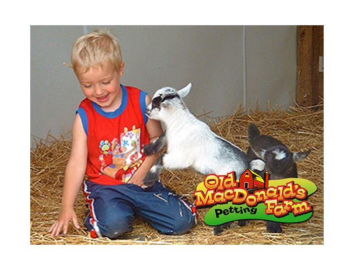 Get a family four-pack DAY PASS to Old MacDonald's Petting Farm for ONLY $31!