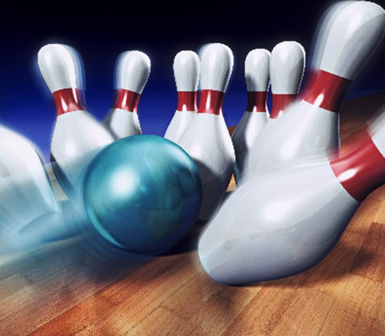 Click Big Deals - Half Price Bowling! 2 hours of bowling including shoes for up to 5 people, large pizza, pitcher of soda or beer. $80 value, half price for just $40!