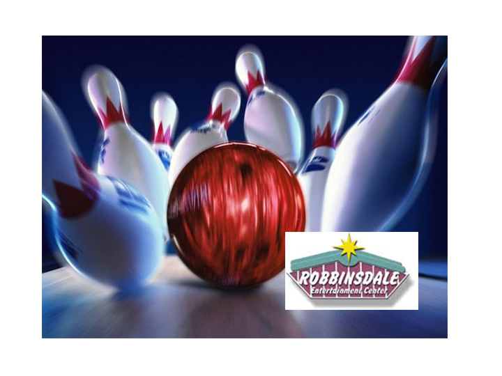 50% OFF a 2-Pack of Cosmic Bowling at Robbindale Lanes!  $30 value for JUST $15!  Includes shoes for 2 people and 2 hours of UNLIMITED Bowling!