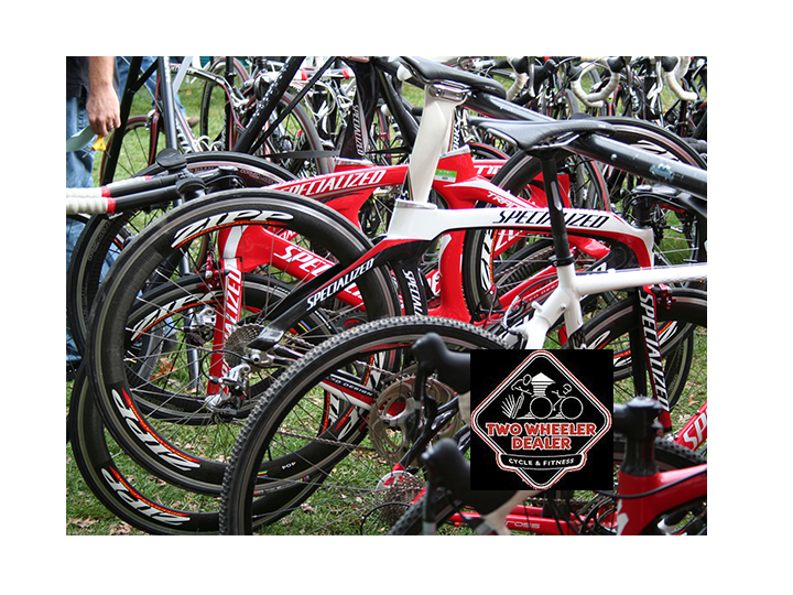 Exercise Apparel, Athletic Shoes, Accessories, Bikes, Bike Tune-ups, and so much more at Two Wheeler Dealer~Get $40 for ONLY $20!