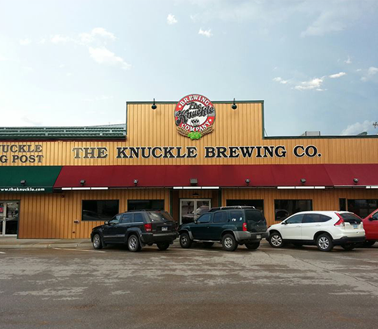 The Knuckle Brewing Company: $30 for JUST $15