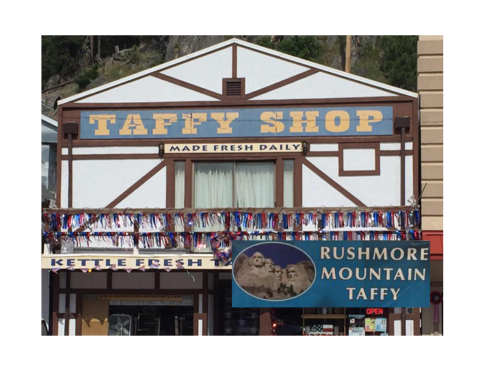 Treat yourself to something sweet! Get $20 at the Rushmore Mountain Taffy Shop for ONLY $10