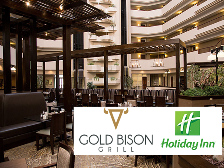 $30 Voucher to The Gold Bison Grill at The Holiday Inn Rushmore Plaza in Rapid City, HALF-PRICE for just $15!