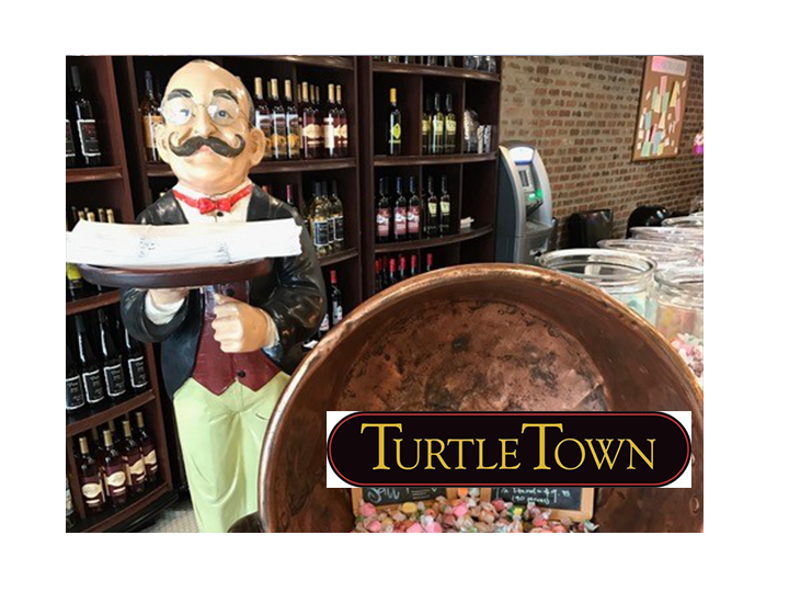 Get Exquisite Handmade Chocolates, Coffee, Wine, Copper Kettle Fudge, Ice Cream, and Gifts at Turtle Town~ $20 for ONLY $10~ Valid at ALL 3 Locations!