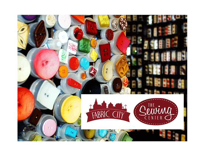 Stock up on all your sewing supplies! Get $40 for JUST $20 at The Sewing Center and Fabric City!