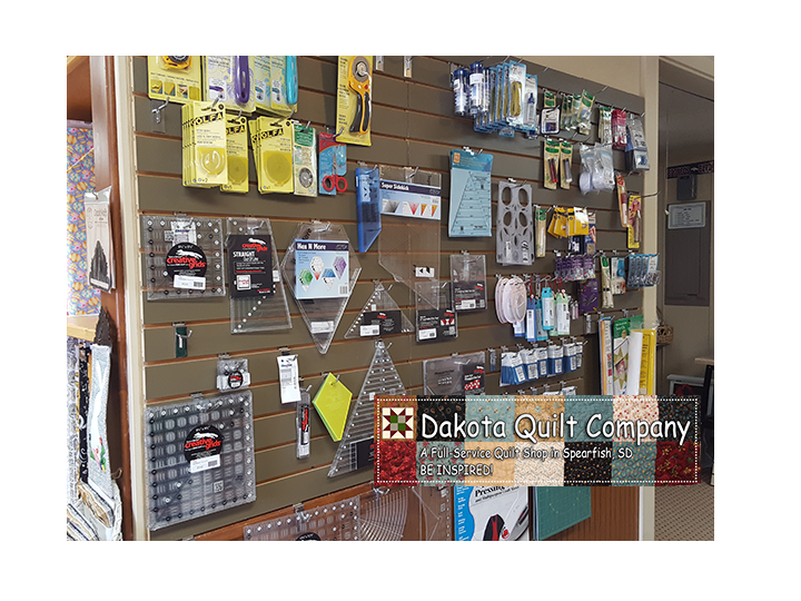 Be inspired! Get $40 for ONLY $20 at the Dakota Quilt Company!