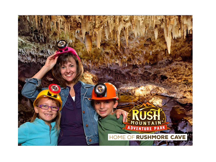 Adventure awaits at Rush Mountain Adventure Park for 50% OFF! ONLY $27.50! Play all day wristband includes a 1hr cave tour and unlimited rides!