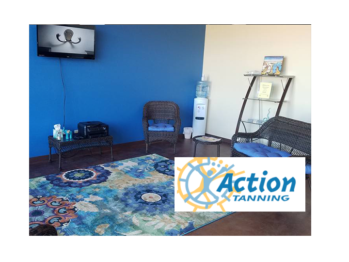 Get $20 to spend at Action Tanning for ONLY $10! Good towards any salon service! Buy up to 2!