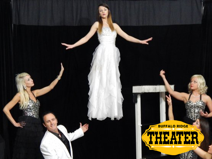 The Grand Magic Show at Buffalo Ridge Theater in Custer: 2 Tickets for the Price of 1 JUST $18
