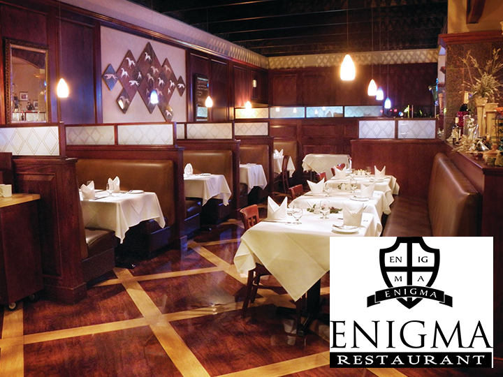 Get a $50 voucher for ONLY $25 at the Enigma Restaurant and the 445 Lounge in the Rushmore Hotel & Suites!