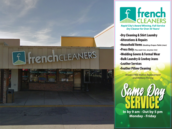 French Cleaners 50% OFF!!...$20 for ONLY $10!!
