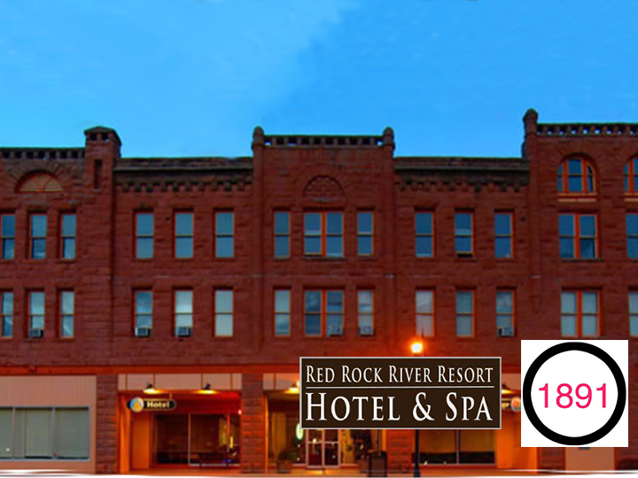 Get a one night stay for two at Red Rock River Resort AND $20 at the 1891 Steakhouse and Bistro for ONLY $57.50! A perfect date night deal!