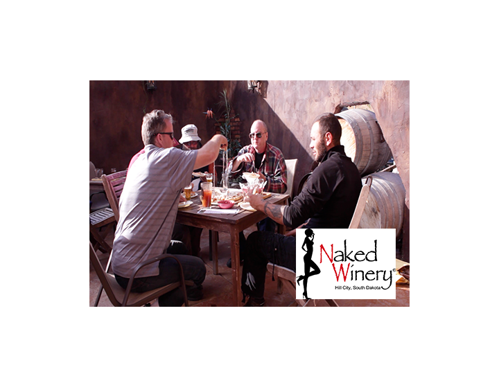 2 Passes to The Medieval Banquet at Naked Winery in Hill City, this Saturday, April 29th, a $29 value, Half-Off for JUST $14.50!