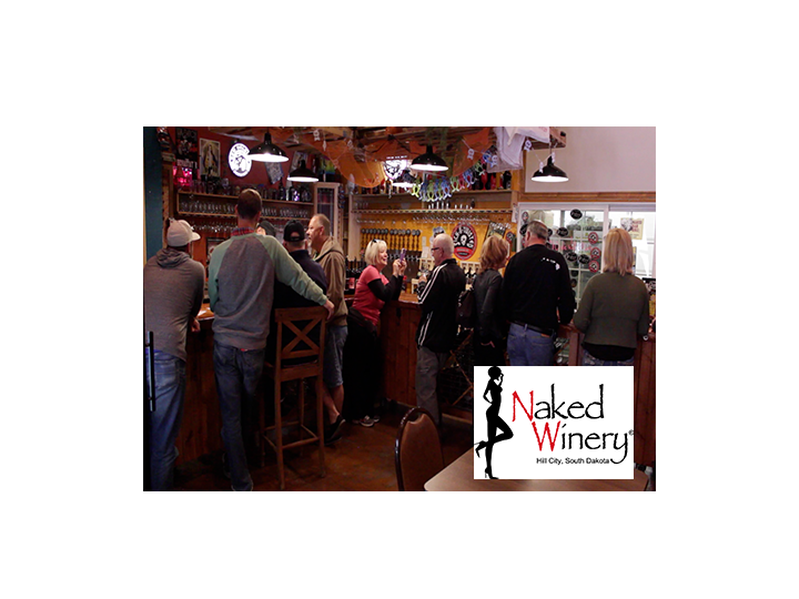 Half Price Comedy at Naked Winery This Saturday, 2/18/17, just $15! Buy up to 4!