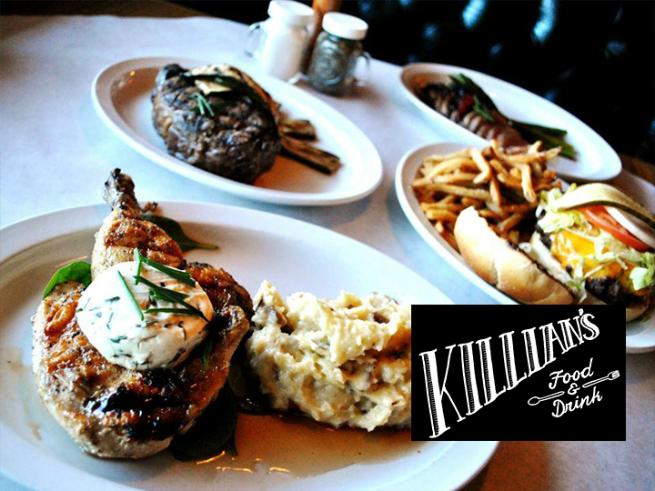 Killian's Food & Drink - 50% OFF - Get $20 for JUST $10