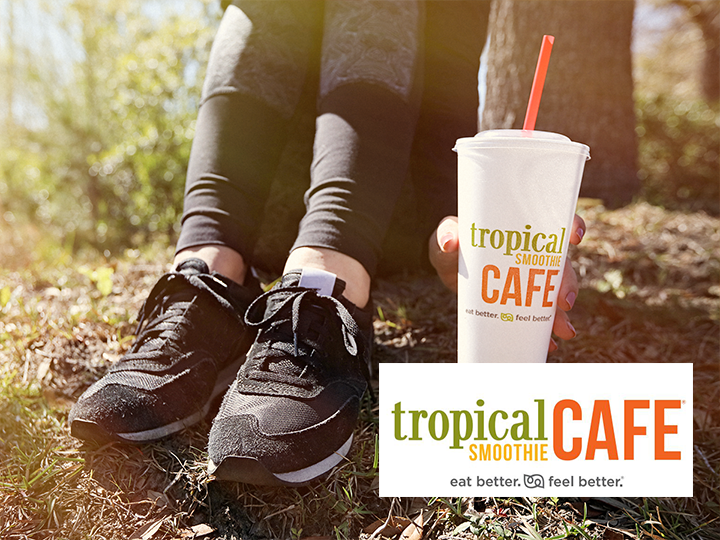 Get $20 at Tropical Smoothie Cafe for ONLY $10!