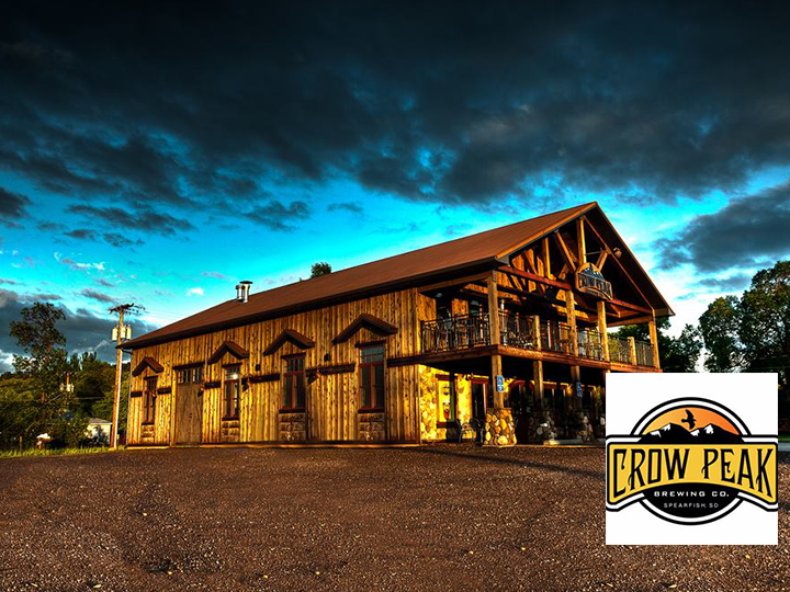 Enjoy some of the finest craft beer in the hills at Crow Peak Brewing Co. in Spearfish! Get a $20 Voucher for Only $10!