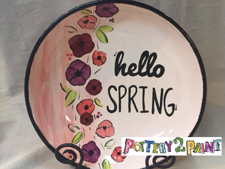 Get $20 for ONLY $10 at Pottery 2 Paint!