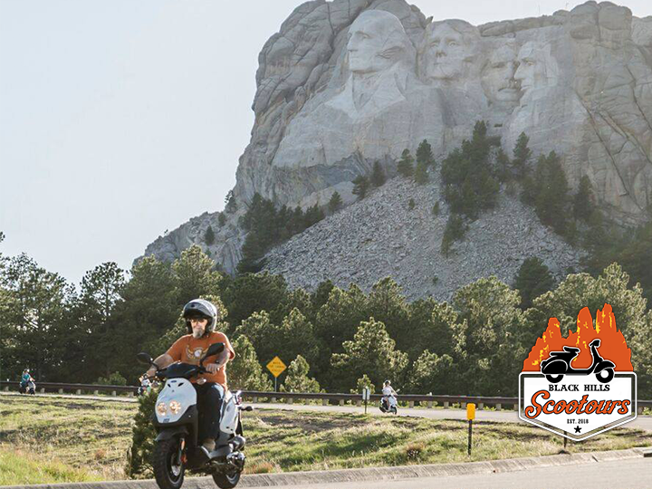 Rent a scooter and take a joy ride around the scenic Black Hills for 50% OFF! Now just $45 for a 4 hour scooter rental!