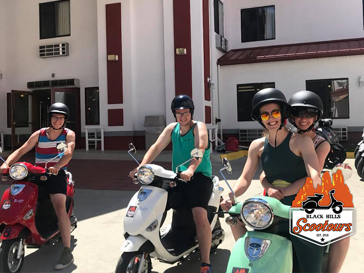 Click Big Deals - Rent a scooter and take a joy ride around the scenic Black Hills for 50% OFF! Now just $45 for a 4 hour scooter rental!