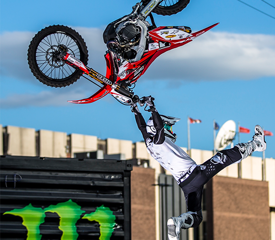 Buy one ticket to Deadwood ALL IN Freestyle Motocross on September 7th, get one free!  $32 value for $16!!