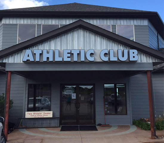 Work off those Christmas cookies and start 2019 off right with a one month membership to the Athletic Club for 50% OFF! $40 for ONLY $20 for 1 month!!
