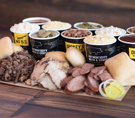 Click Big Deals - Half price barbecue!  $20 voucher to Dickey's Barbecue Pit in Spearfish, half price for just $10!