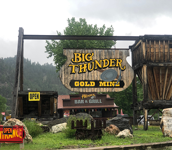 Take the family out to Big Thunder Gold Mine for just $20 for 2 adults and 2 kids!