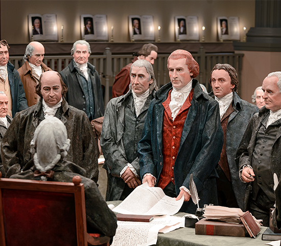 America's Founding Fathers Exhibit- Fun for the entire family! Family pass up to 6 people for JUST $22!!!