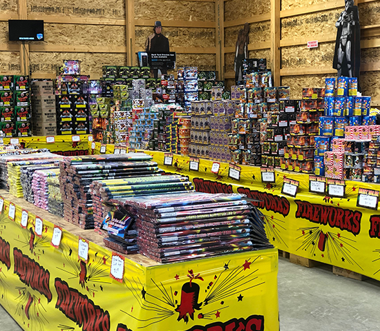 Click Big Deals - Celebrate the 4th of July at Extreme Fireworks with 50% OFF! Get $50 for only $25!
