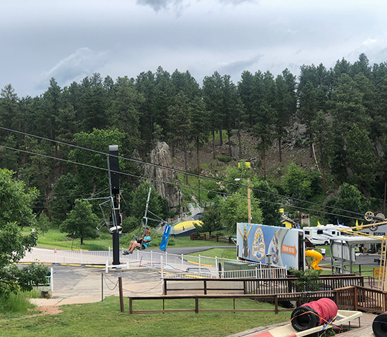 Take the family to Rushmore Tramway Adventures for ONLY $42.50! That's a 50% SAVINGS!!!