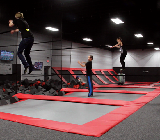 Click Big Deals - Jump Around! Jump Around! Get 2 for 1 Jump Passes for 1 hour at Jump Craze! $24 value for ONLY $12!