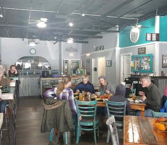 Click Big Deals - Support Your Community and Treat Yourself to Delicious Healthy Cuisine at Fork Real Cafe'! 2 for 1 Lunch and Dessert for ONLY $13! A $26 Value!