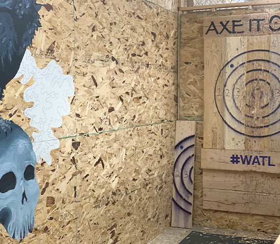 Get a Bullseye of a deal at Axe It Out with 50% off a Voucher for 2!