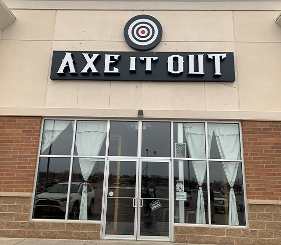 Click Big Deals - Get a Bullseye of a deal at Axe It Out with 50% off a Voucher for 2!