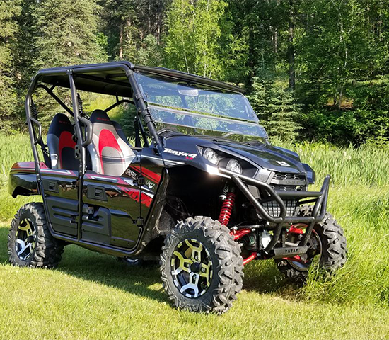 Click Big Deals - Social Distance in the Wilderness, Half-off a Half-day ATV Rental From Black Hills Wilderness Edge Adventures for ONLY $107.50. That's 50% Savings!