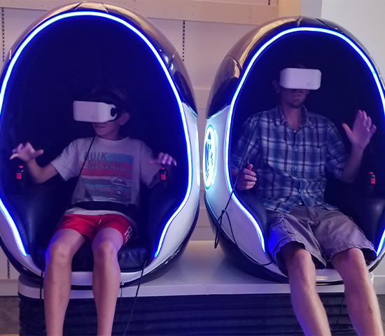 Unbelievable Deal on an Epic Virtual Reality Experience at the FunZone in Rushmore Mall! Get 2 players for 45 minutes for Only $25! A value of $50!