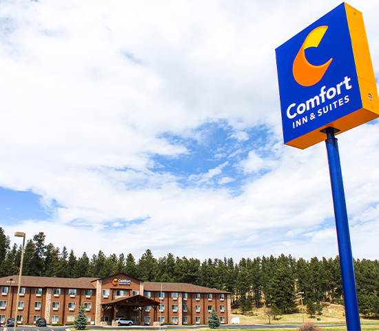 Stay and Play in the Scenic Beauty of Custer with 50% Off a 2-night Stay at the Comfort Inn & Suites! $360 value now only $180!!