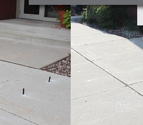Click Big Deals - Got an Unlevel Sidewalk or Damaged Concrete? 50% OFF Small Residential Concrete Leveling services from Extreme Foundation Repair! $400 Now Only $200!