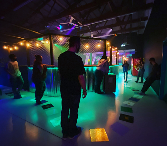 Click Big Deals - Game On!  South Dakotas premier adventure center for kids of all ages!  Get a half-price punch card good for any immersive adventure, $20 for $10!
