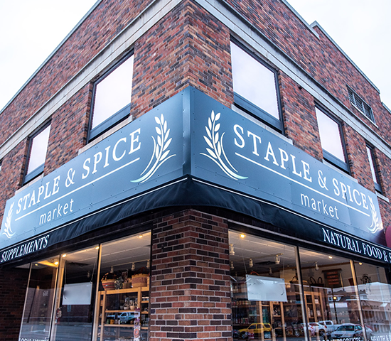 Click Big Deals - Shop local at Rapid City's specialty health food store- Staple & Spice Market! $30 voucher for JUST $15!