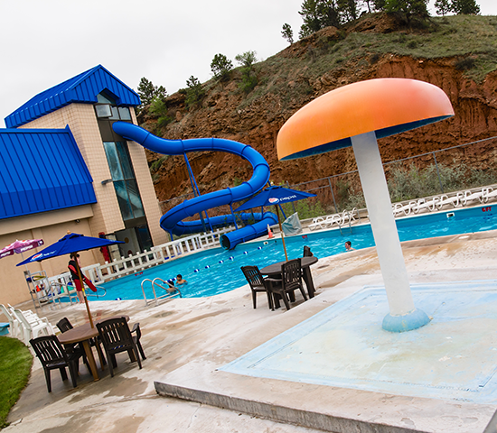 Get a Family 4 Pack at Evans Plunge in Historic Hot Springs for JUST $28! That is a BIG savings of 50%!
