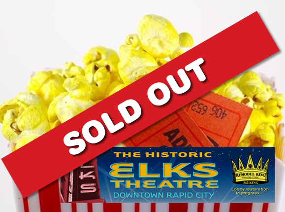 Date Night at the Elks Theatre for JUST $11 (2 Tickets, 1 Large Popcorn, 2 Large Drinks)