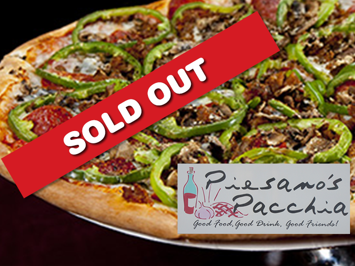 Get a $20 voucher for Piesano's Pacchia for just $10!  That's a BIG Savings of 50%!!