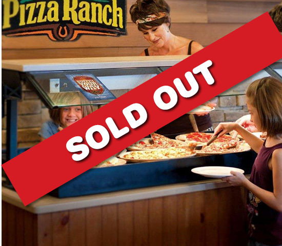 South Side Pizza Ranch-$10 Pizza Ranch Voucher and $10 Fun Zone Arcade Card for 1/2 OFF, JUST $10.00!